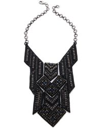 Deepa Gurnani - Geometric Statement Necklace - Lyst
