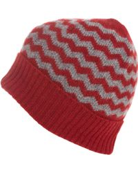Howlin' By Morrison | Red Zion Beanie Hat | Lyst