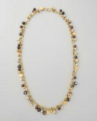 Ashley Pittman Kito Beaded Charm Necklace - Lyst