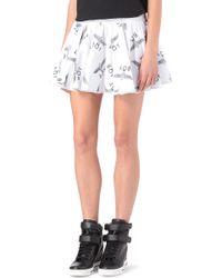 BOY London - Printed Rara Skirt - Lyst