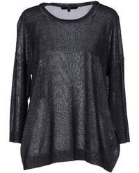 Tibi Long Sleeve Sweater - Lyst