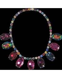 Tom Binns - Multicolored Crystals Necklace - Lyst