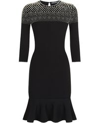 Alexander McQueen Degrade Pearl Dress - Lyst