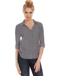 Calvin Klein Jeans Longsleeve Embroidered Shirt - Lyst