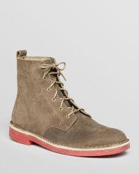 Clarks - Desert Mali Suede Boots - Lyst