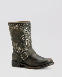 Frye Boots - Jenna Skull Stud - Lyst