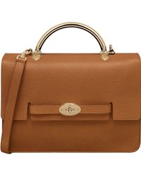 Mulberry Bayswater Grainy Leather Shoulder Bag - Lyst