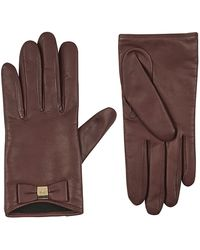 Mulberry - Bow Gloves - Lyst
