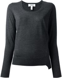 Nicole Farhi - Scoop Neck Sweater - Lyst