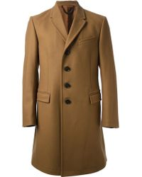 Paul Smith Classic Overcoat - Lyst