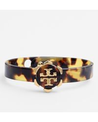 Tory Burch Walter Logo Station Resin Bangle - Lyst