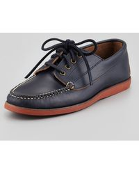 Eastland Falmouth Usa Rubber Sole Boat Shoe - Lyst