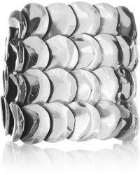 Anndra Neen - Petal Silverplated Cuff - Lyst