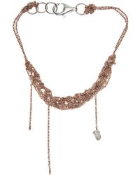 Arielle De Pinto | Bare Chain Bracelet | Lyst