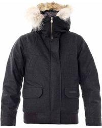 Canada Goose Aosta Fur Trim Quilted Coat - Lyst