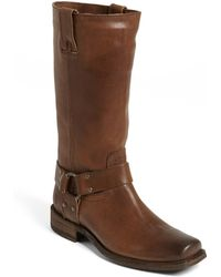 Frye | Smith Harness Tall Boot | Lyst