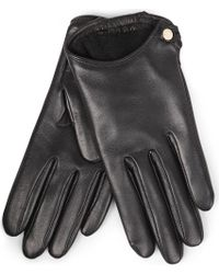 Givenchy Nappa Leather Cutaway Gloves - Lyst