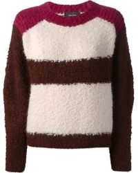 Isabel Marant Striped Sweater - Lyst
