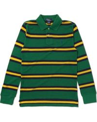 Ralph Lauren Striped Classic Polo Shirt - Lyst