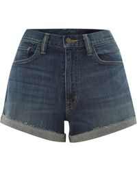 Denim And Supply Ralph Lauren Roll Hem Shorts - Lyst