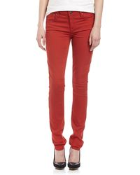 Helmut Lang Overdye Five Pocket Skinny Pants  - Lyst