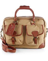 Polo Ralph Lauren - Twill Commuter Messenger Bag - Lyst