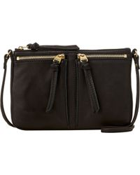 Fossil - Erin Small Top Zip Shoulder Bag - Lyst