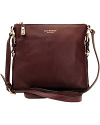 Isaac Mizrahi New York Evalyn Leather Crossbody Bag - Lyst
