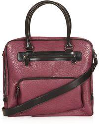 TOPSHOP - Merino Zip Pocket Luggage - Lyst