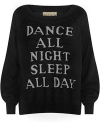 Wildfox Dance All Night Sweater - Lyst