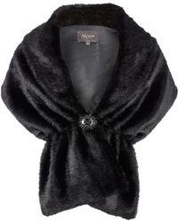 Alexon - Black Fur Stole - Lyst