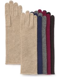 C By Bloomingdale's - Cashmere Angelina Gloves - Lyst