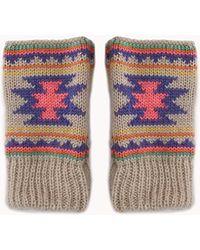 Forever 21 - Cosy Tribal Style Fingerless Gloves - Lyst
