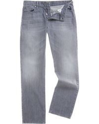 Hugo Boss Orange 25 Grey Jeans - Lyst