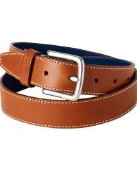 Jaeger | Contrast Stitch Leather Belt | Lyst