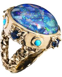 Stephen Dweck - Opal and Bronze Ring - Lyst