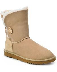 Ugg Bailey Button Ankle Boots - Lyst