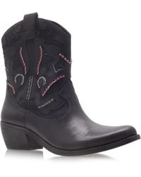 Vince Camuto Cinna Cowboy Boots - Lyst