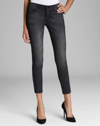 D-ID - Jeans - Ny Skinny Side Quilt In Black - Lyst