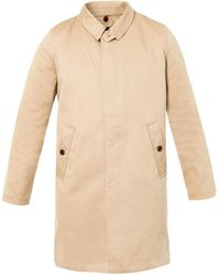 Steven Alan - Quentin Contrast Collar Trench Coat - Lyst