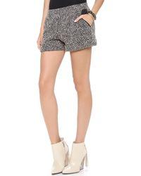 Lanston - Boucle Shorts - Lyst