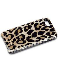 Kate Spade Leopard Print Iphone 5 Case - Lyst