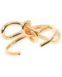 Balenciaga - Single Bow Cuff - Lyst
