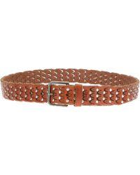 Dolce & Gabbana Studded Belt - Lyst