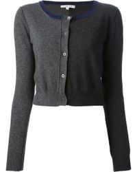Hache - Cropped Cardigan - Lyst