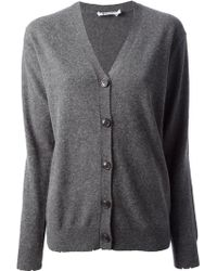 T By Alexander Wang Knitted Cardigan - Lyst