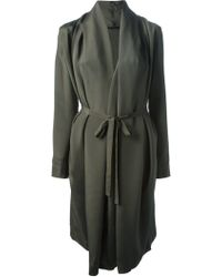 Unconditional - Belted Coat Dress - Lyst