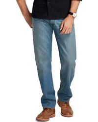 Brooks Brothers Supima® Denim Relaxed Fit Jeans - Lyst