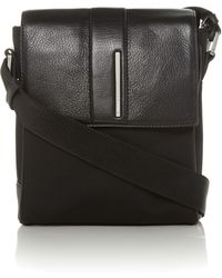 Calvin Klein Luca Reporter Bag with Flap - Lyst