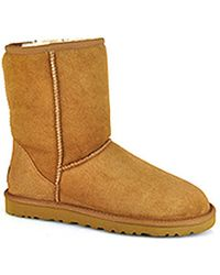 Ugg Classic Short - Sheepskin Boot - Lyst